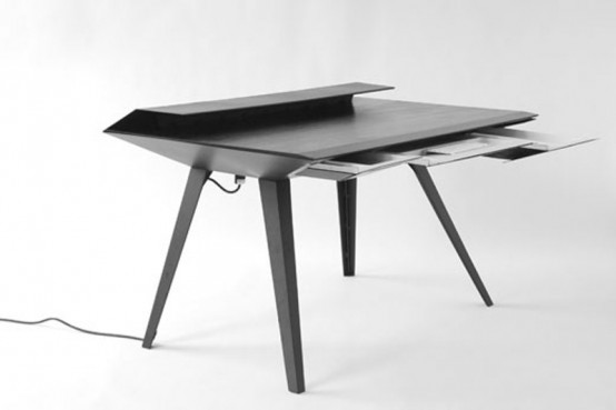 Futuristic Desk 117 Inspired By Stealth Bombers