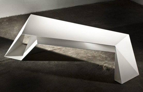 Futuristic Foldone Table By Novae Architecture