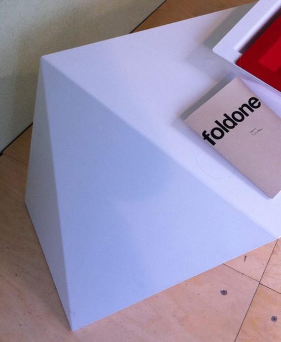 Futuristic Foldone Table By Novae Architecture