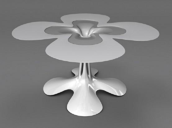 Futuristic Furniture Made Of Metal