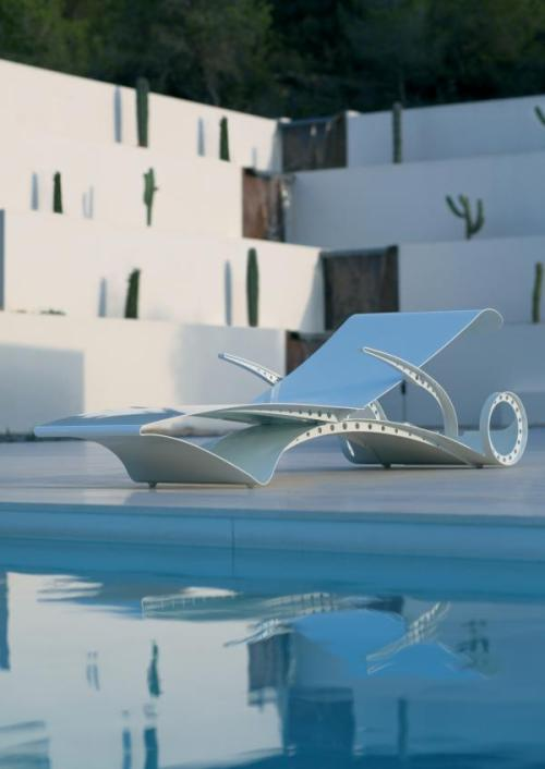 Futuristic Garden Furniture