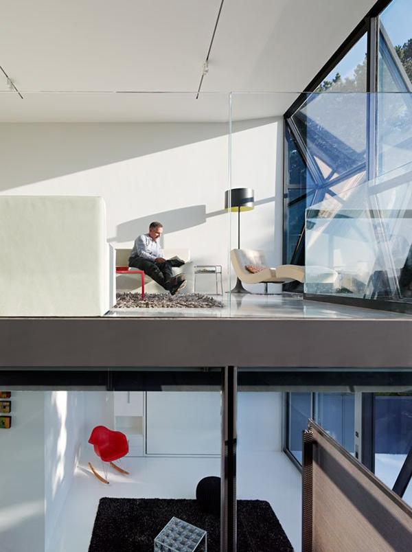 Desain Rumah Minimalis: The New Futuristic House With Prismatic ...
