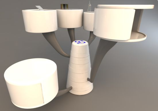 Futuristic Kitchen Appliance Kitchen Tree By Balin Lee