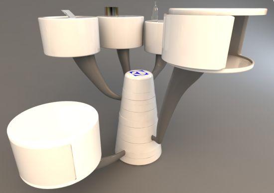 Futuristic Kitchen Appliance Kitchen Tree By Balin Lee