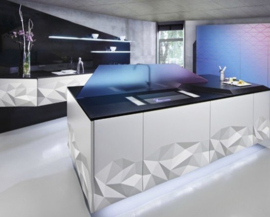 Futuristic Kitchen futuristic kitchen design archives - digsdigs