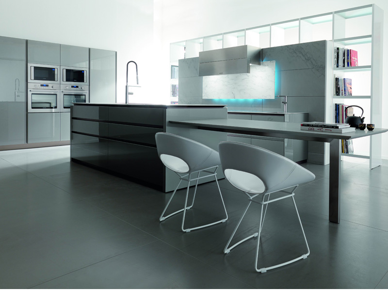 Futuristic Kitchen Design from Italy by Toncelli - DigsDigs