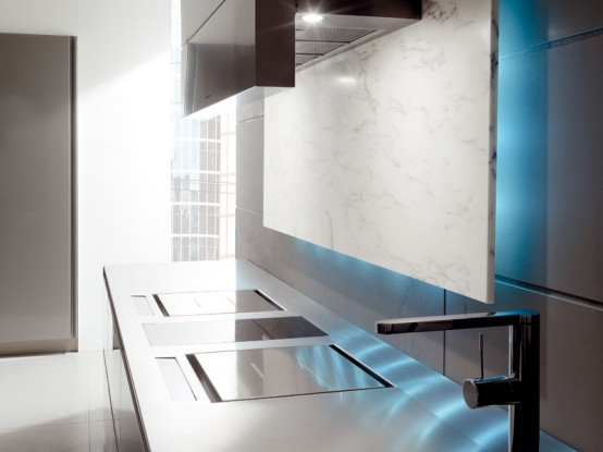 Futuristic Kitchen Design Toncelli