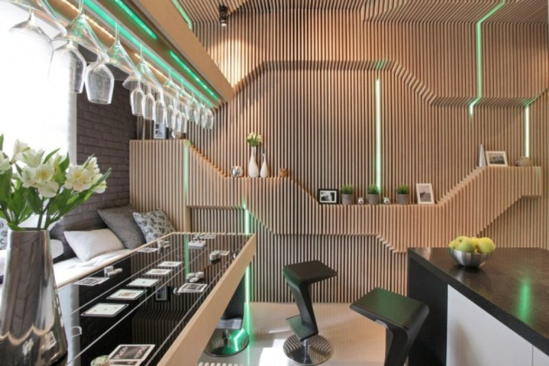 Futuristic Kitchen Design With Smart Space Saving Solutions Digsdigs
