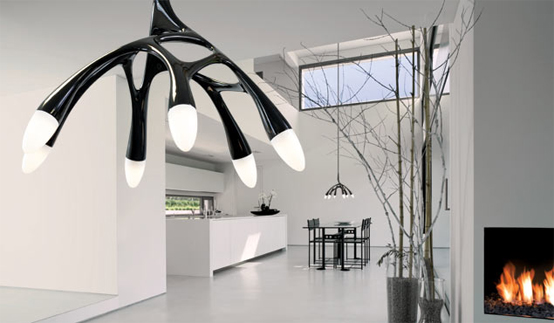 Futuristic Led Pendant Lamp