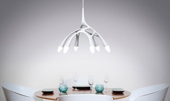 Futuristic Led Pendant Lamp