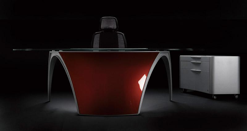Futuristic Desks for Home Office – Luna By Uffix