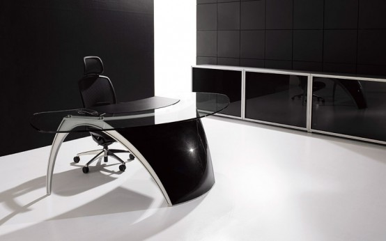 Futuristic Desks For Home Office Luna By Uffix Digsdigs