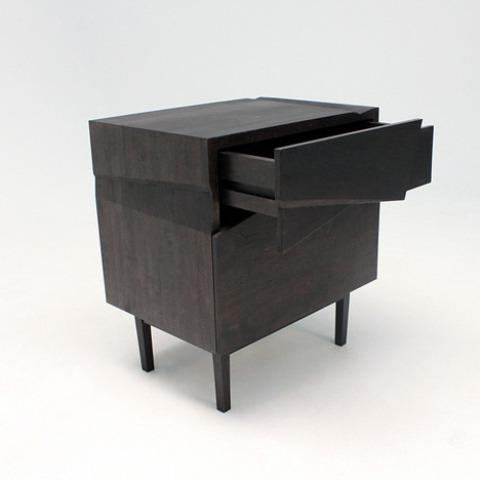Futuristic Piega Cabinet That Imitates Paper Folds