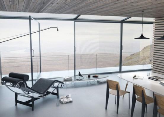 Futuristic Self Sustaining House On Stilts