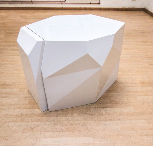 Futuristic Table And Chairs To Hide In It