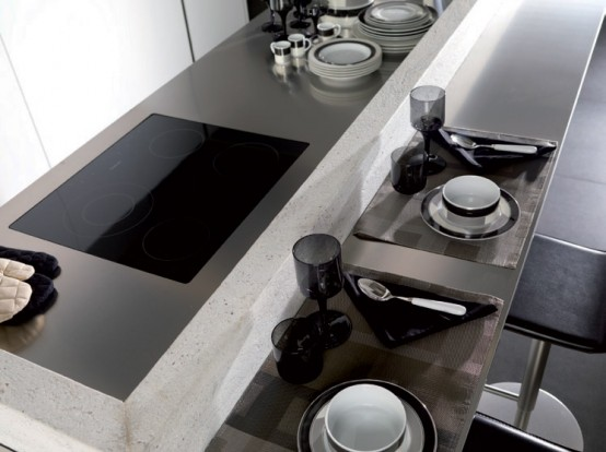 G975 Kitchen Fronts Made Of Corian