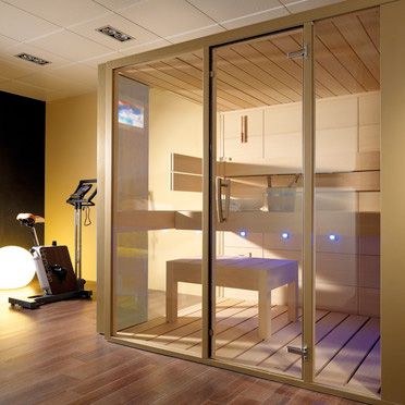 Luxury and Futuristic Home Sauna – GALA from Porcelanosa