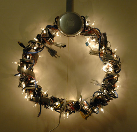 Geek Christmas LED Wreath