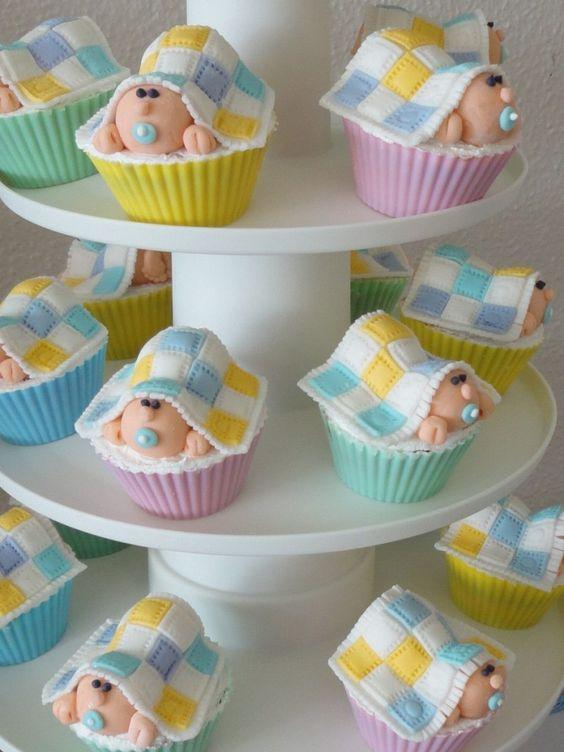 Baby Shower Cupcake Ideas Neutral : 41 Gender Neutral Baby Shower Decor Ideas That Excite ...