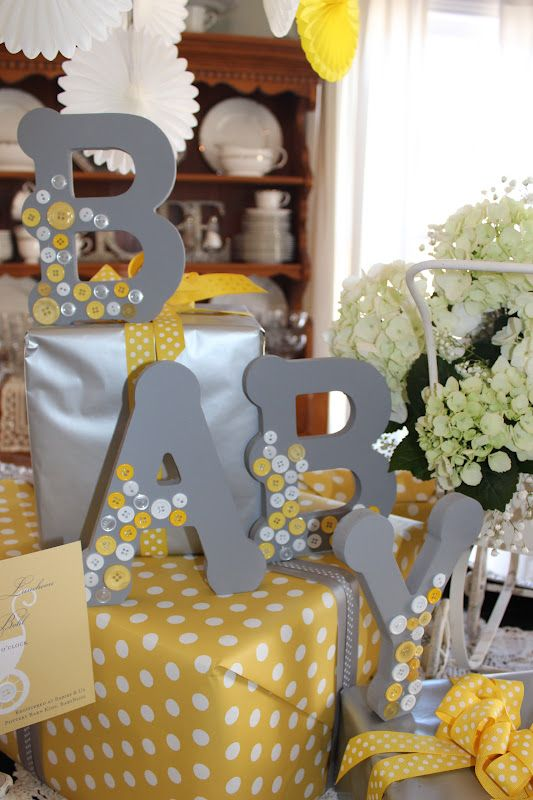 41 gender neutral baby shower d cor ideas that excite for Baby shower decoration pics