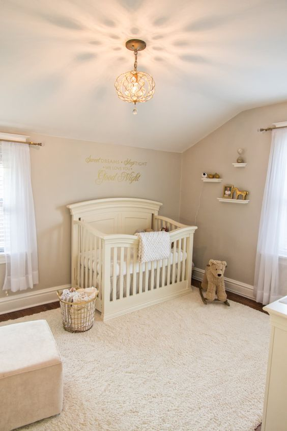 34 gender neutral nursery design ideas that excite digsdigs for Small neutral bedroom ideas