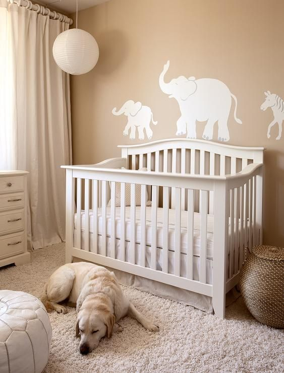 Yellow Animals For Baby Room