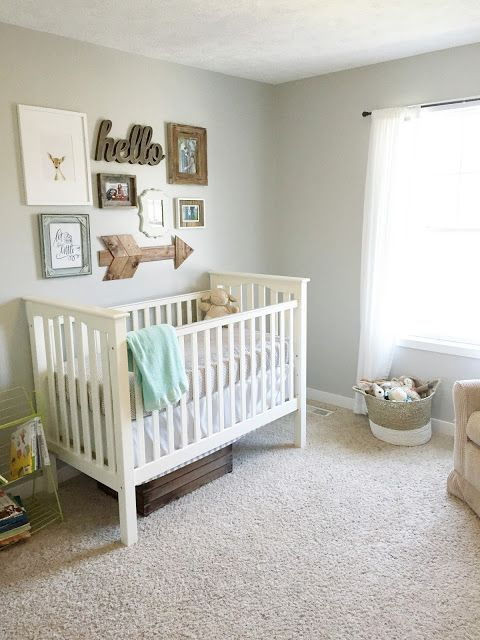 34 gender neutral nursery design ideas that excite digsdigs for Baby crib decoration