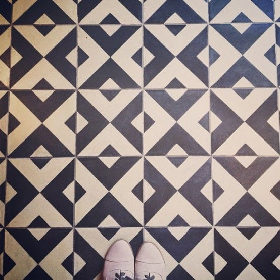 Kitchen Tiles Geometric: Modern Surface Trend: 30 Geometric Tiles Ideas