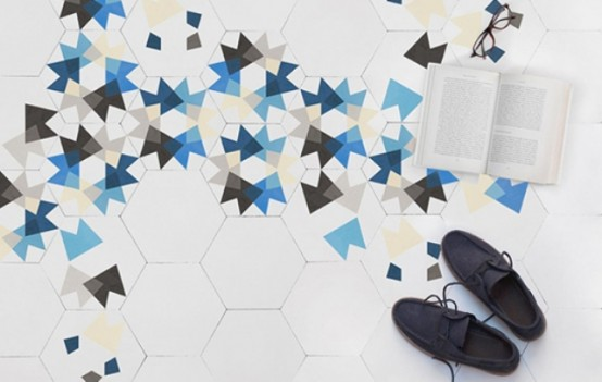 Modern Surface Trend: 30 Geometric Tiles Ideas