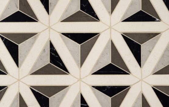 Modern Surface Trend: 30 Geometric Tiles Ideas - DigsDigs