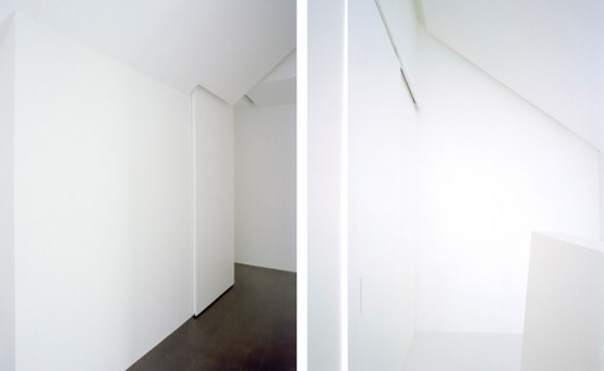 ghost minimalist house japan