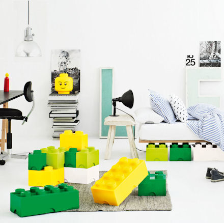 Giant Lego Bricks As Storage Boxes
