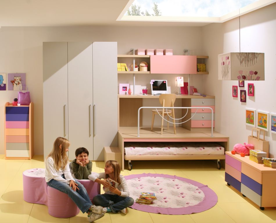 50 brilliant boys and girls room designs unoxtutti from giessegi digsdigs - Room for girls ...
