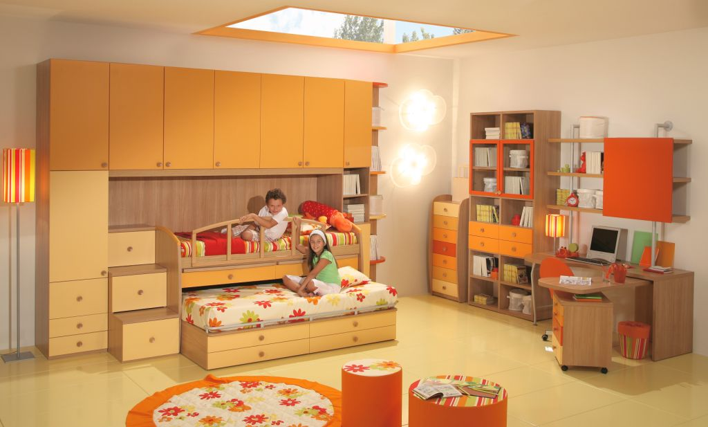 50 brilliant boys and girls room designs unoxtutti from for Brilliant bedroom for girls