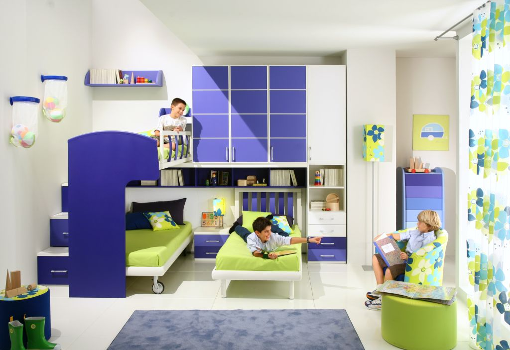 50 brilliant boys and girls room designs unoxtutti from Bunk room designs