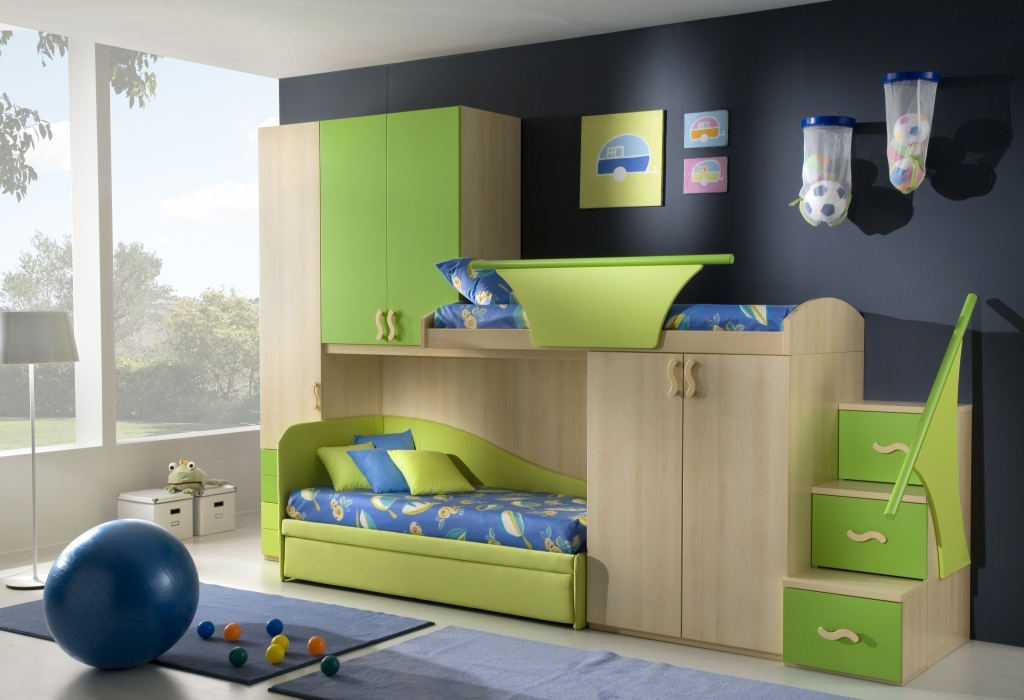 Boy Bedroom Storage: 50 Brilliant Boys And Girls Room Designs
