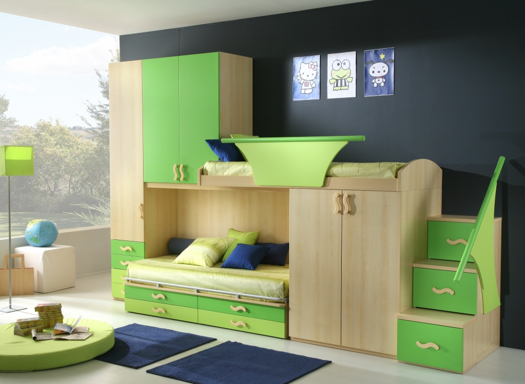50 Awesome Bedroom Ideas: 50 Brilliant Boys And Girls Room Designs
