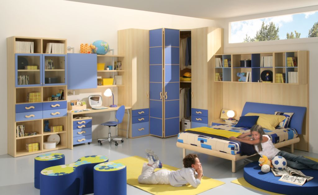 50 Brilliant Boys and Girls Room Designs – Unoxtutti from Giessegi ...