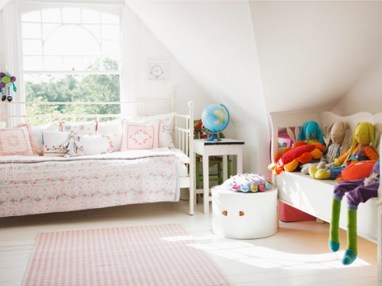 33 Wonderful Girls Room Design Ideas - DigsDigs