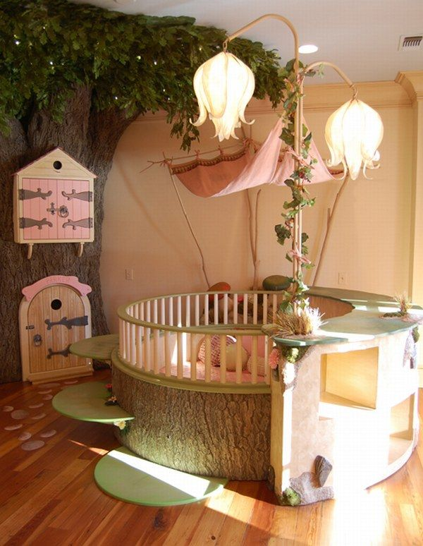 Fairy Themed Bedroom Decorations: 33 Wonderful Girls Room Design Ideas