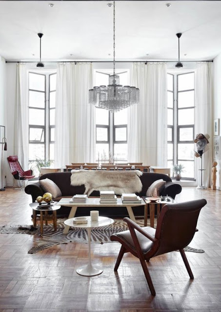 Glam Art Deco Apartment In Muted Colors