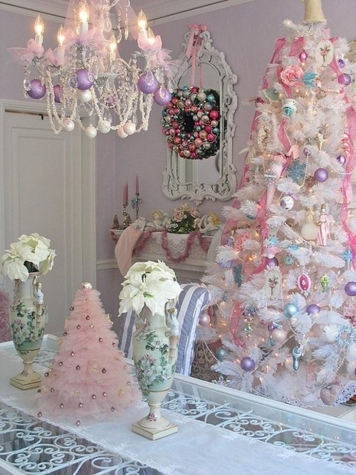 Glamorous Pastel Christmas Decor Ideas