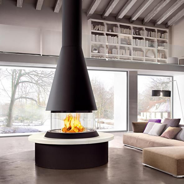 27 Glass Fireplaces To Watch The Fire From All Angles Digsdigs