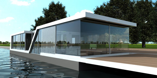 Small Glass House on the Water – Watervilla Kortenhoef