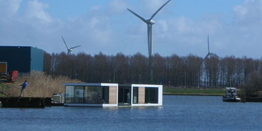 Glass House On The Water