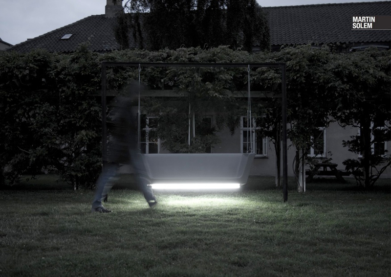 Glowing Bench