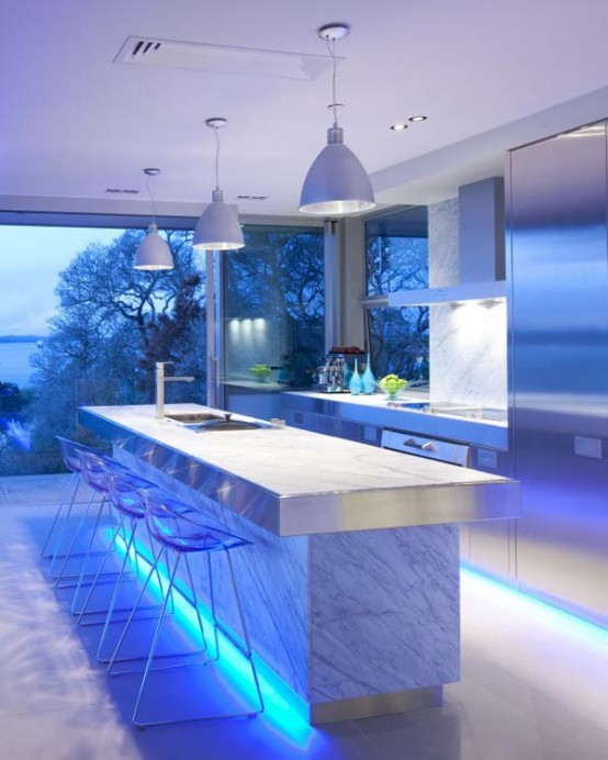 Glowing Kitchen