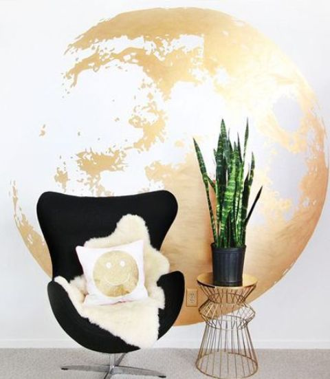 Gold Accents And Accessories For Your Interior