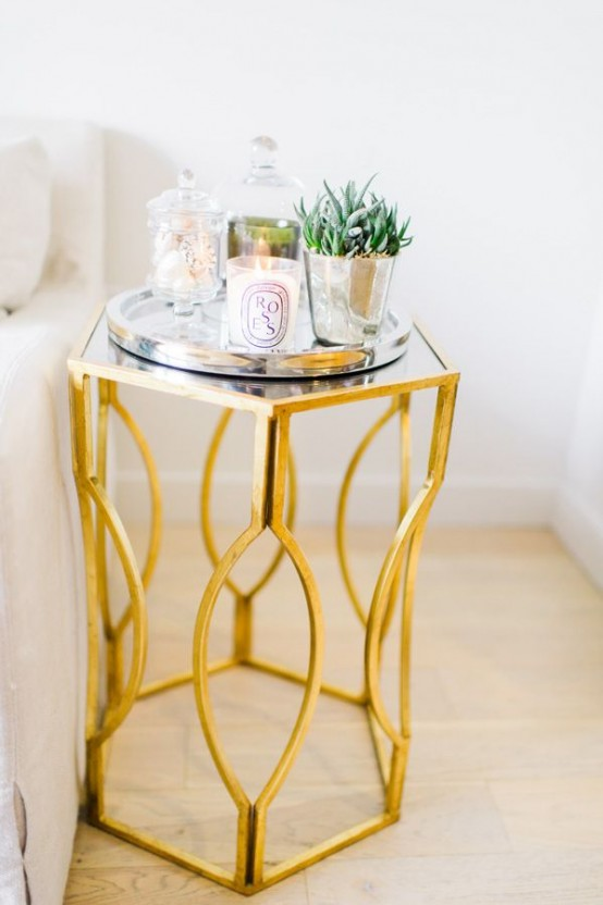 38 Glam Gold Accents And Accessories For Your Interior