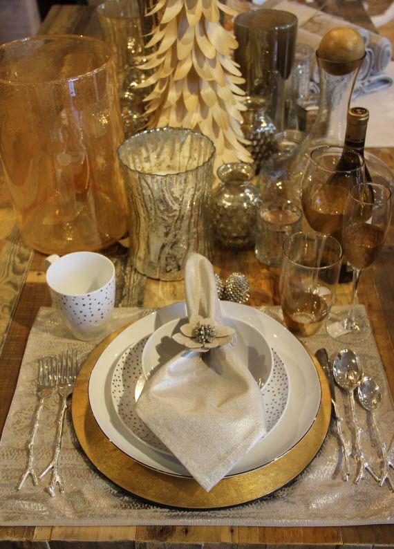 35 Gold Thanksgiving D Cor Ideas Digsdigs